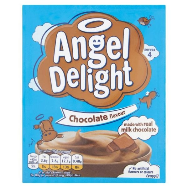 Angel Delight Chocolate Flavour Dessert 59g