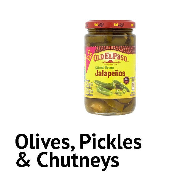 Olives, Pickles & Chutneys