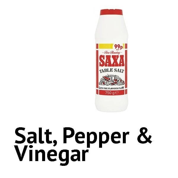 Salt / Pepper / Vinegar